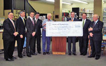Secretary of State Hargett presents $100,000 check to library building campaign | Tennessee Libraries | Scoop.it