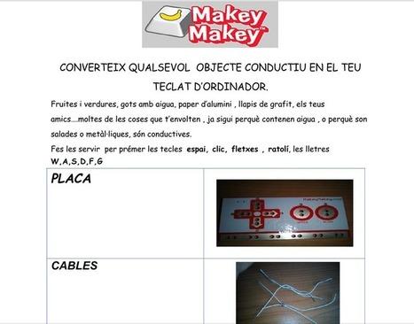 Aplicacions educatives amb el Makey Makey   Recursos d'Educació Especial   EL BADIU del CRP   Scoop.it