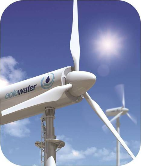 Water in the Desert: Wind Power System Produces 800 liters/day | Sustainable Futures | Scoop.it