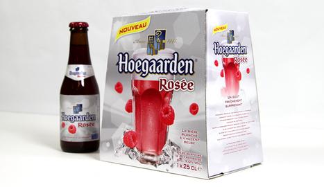 """Hoegaarden Rosée, meilleure inno """"Bière"""" des 5 dernières années   Food   Scoop.it"""
