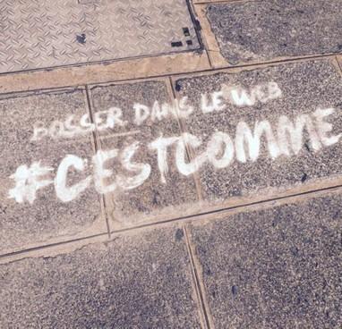 #CESTCOMME: Une campagne basée sur un hashtag | Best of des Médias Sociaux | Scoop.it
