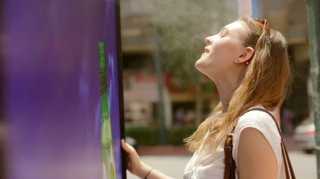 Lipton transforme un Abribus en brumisateur géant pour lutter contre la chaleur de l'été | Quadra Diffusion | Scoop.it