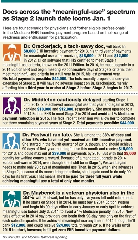 Taking the EHR penalty: More doc offices may opt out   Realms of Healthcare and Business   Scoop.it