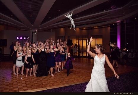 C'est tellement plus drôle de lancer un chat à son mariage - ATYPIQUE | tout savoir sur le mariage | Scoop.it