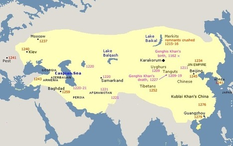 Genghis Khan and the Great Mongol Empire | Year 8 History - the rise of Genghis Khan | Scoop.it