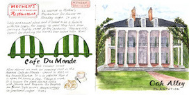 Claire's Sketchbook: More Memories of NOLA Live 2011 | Oak Alley Plantation: Things to see! | Scoop.it