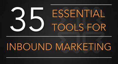 35 Essential Tools For Inbound Marketing | Inbound marketing, social and SEO | Scoop.it