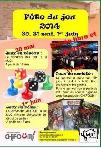 Fête du Jeu 2014 à Lamballe | Jeux de Rôle | Scoop.it