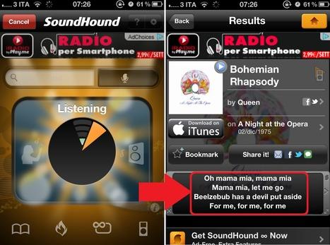 Il Testo delle Canzoni in Inglese sul tuo Smartphone Mentre Le Ascolti alla Radio | Imparare l'Inglese OnLine | Scoop.it