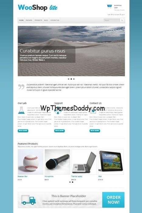 Free eCommerce WordPress Themes Best of 2015 ~ Free WordPress Themes - WP Themes Daddy   Free Wordpress Themes   Scoop.it