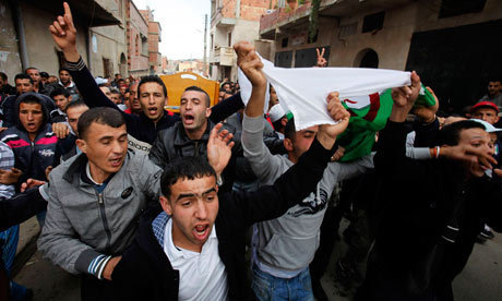 Algeria has let its rioting youth down | Nabila Ramdani | Comment is free | guardian.co.uk | Coveting Freedom | Scoop.it