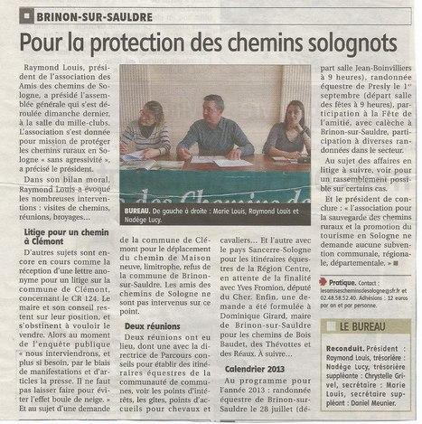 Pour la protection des chemins solognots   Autour de Nouan-le-Fuzelier   Scoop.it