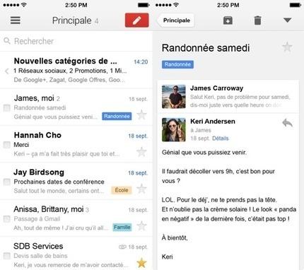 Gmail iOS : une faille de sécurité découverte mais démentie par Google | Boite Mail | Scoop.it
