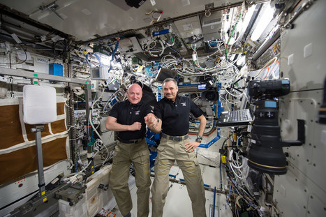 NASA Astronaut Scott Kelly Safely Back on Earth after One-Year Mission | Resilience and Agility | Scoop.it