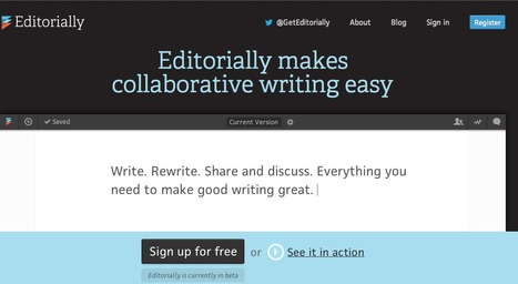 Editorially - Collaborative Writing | Informed Teacher Librarianship | Scoop.it
