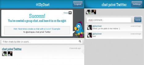 Blether – Créer un chat privé avec plusieurs utilisateurs Twitter | Web2.0 et langues | Scoop.it