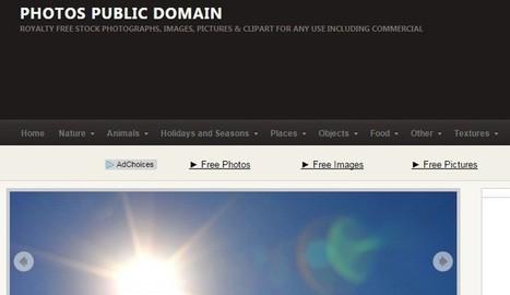 Photos Public Domain, otro sitio web con miles de fotos gratis | Educación (métodos y herramientas) | Scoop.it