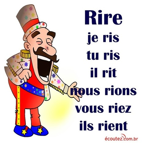 "Verbe ""rire"" 