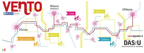 VENTO : not just a cycle path, it is a green opportunity | Italia Mia | Scoop.it