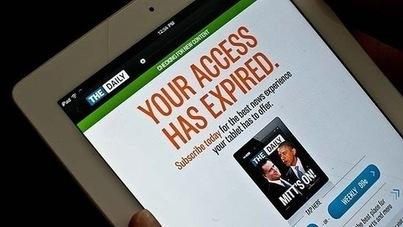 Les leçons à tirer de l'échec du quotidien en ligne «The Daily»   La Croix   La presse écrite : un média en crise   Scoop.it