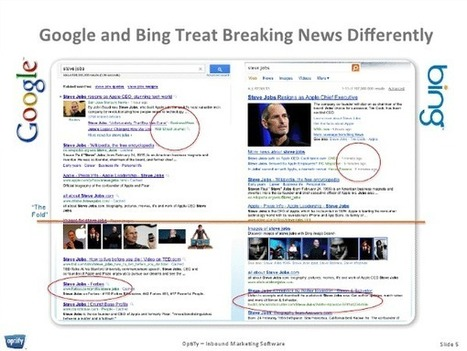 10 Keys to Ranking on Google & Bing During Breaking News Events [Study] | The Inbounder | Scoop.it