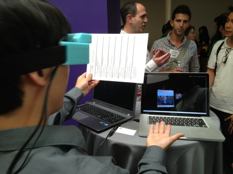 AR startup Meta displays 'Toy Story' on a piece of paper - CNET | MobileMarketing | Scoop.it