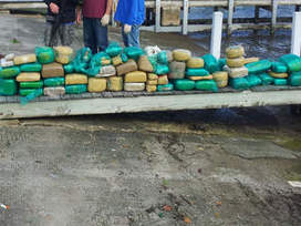 "1,000 pounds of ""drugs"" found on boat in West Palm Beach, Florida 