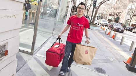 DoorDash raises $17M to pursue goal of same-day delivery of anything, anywhere - Silicon Valley Business Journal | Ecommerce logistics and start-ups | Scoop.it