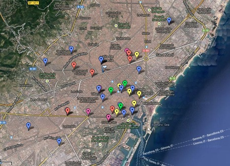 14N Vaga General en Barcelona | Los mapas del #15M | Scoop.it