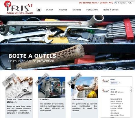 Actu bâtiment / Accompagnement : Santé et sécurité au travail : les artisans du BTP bénéficient d'un nouveau site d'information | B2B | Scoop.it