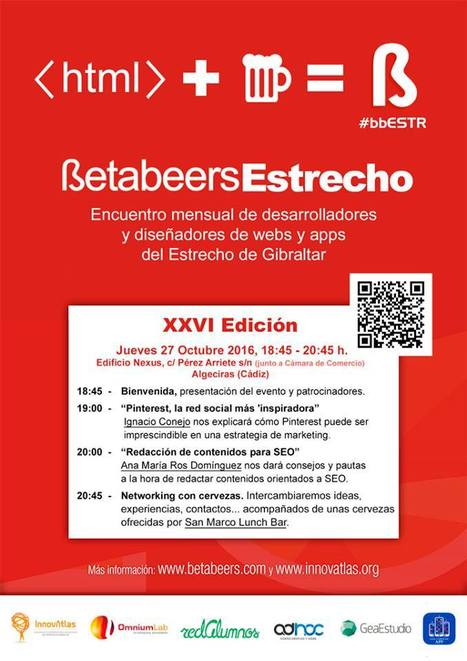 BetaBeers Estrecho de Gibraltar el jueves 27 | Seo, Social Media Marketing | Scoop.it