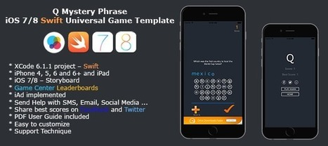 Buy Q Mystery Phrase -Full iOS 7/8 iPhone Game (Swift) Full Games | Chupamobile.com | ios source code | Scoop.it