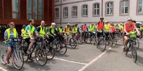 220 kilomètres à vélo pour faire la promo des bibliothèques - France 3 Alsace | open access | Scoop.it