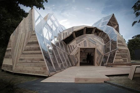 [Allinge, Bornholm, Denmark] Peoples Meeting Dome / Kristoffer Tejlgaard & Benny Jepsen | The Architecture of the City | Scoop.it