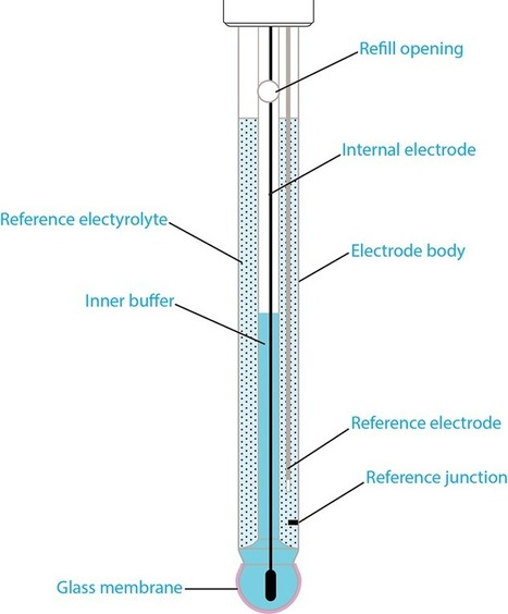 Anatomy of a pH Electrode | Glass pH Probes, Part 1 of 4 | Laboratory - Analytics | Scoop.it