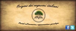 Glossario per l'onomastica | Généal'italie | Scoop.it