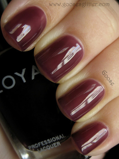 Goose's Glitter: Zoya - NYFW Peter Som Collection: Swatches and Review   Fall Nail Polish   Scoop.it