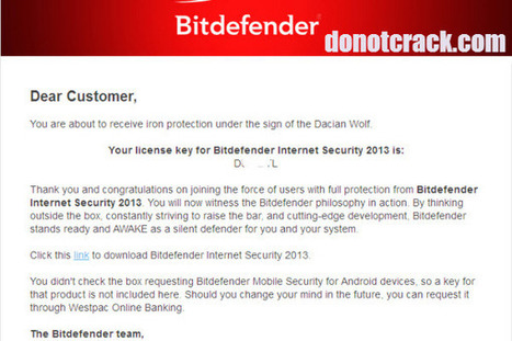 [Giveaway] Bitdefender Internet Security 2013 - Free 1 year license key | Free license for you | facebook | Scoop.it