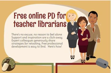 Free PD for TLs (an infographic) from Joyce Valenza | Creativity in the School Library | Scoop.it