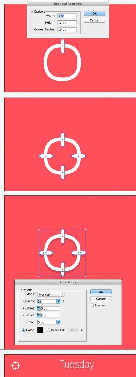 Create a Weather App Design for iOS in Adobe Illustrator | Design émoi | Scoop.it