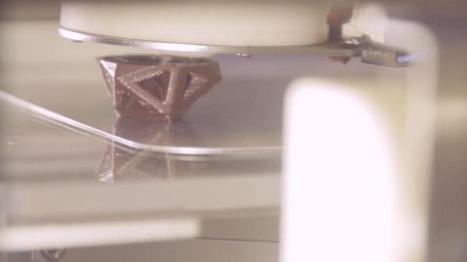 CocoJet: 3-D Printing and Hershey's Chocolate, Together at Last - Entrepreneur | technology | Scoop.it