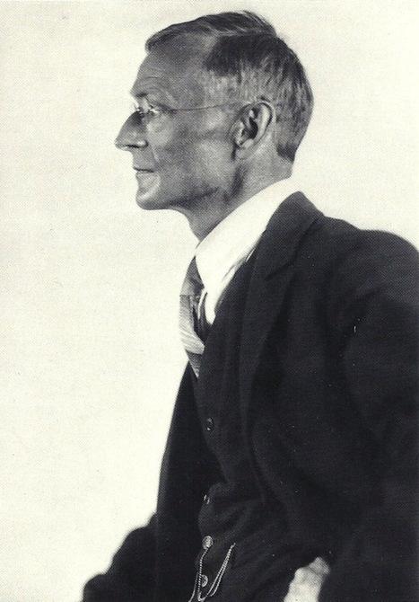 2 juillet 1877 naissance d'Hermann Hesse | Racines de l'Art | Scoop.it