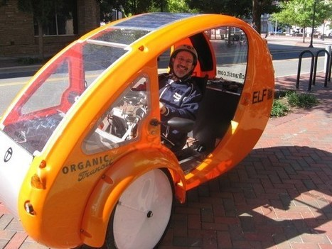 Elf Solar-Powered Bicycle Vehicle Rolls Forward | Open source car | Scoop.it