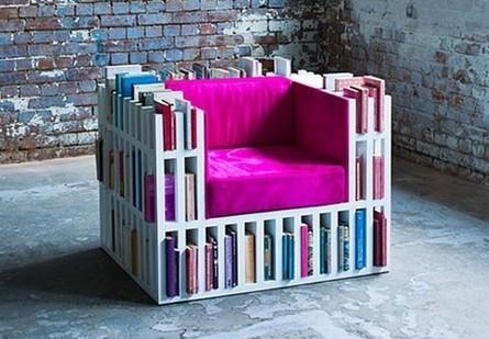 La bibliochaise, l'invention géniale à laquelle il fallait penser ! | Ca m'interpelle... | Scoop.it