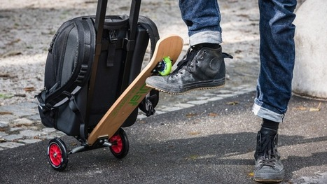 Scooter-Suitcase Hybrid Turns Luggage Into Transportation | About marketing concepts | Scoop.it