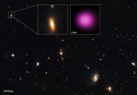 Découverte d'un trou noir de 100000 masses solaires à la périphérie d'une galaxie lenticulaire | C@fé des Sciences | Scoop.it