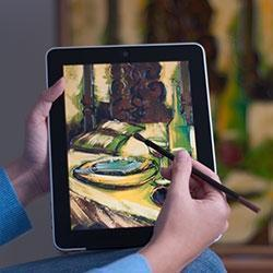 Paint on you iPad Tablet with these cool capacitive brushes | New Amazon Gadgets | Scoop.it