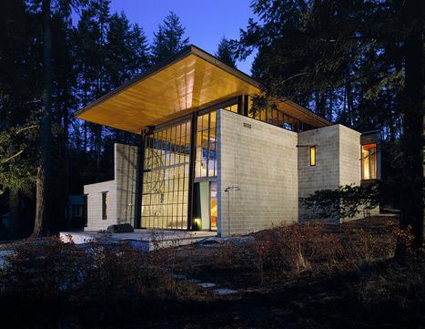 Maison de campagne Chicken Point Cabin par Olson Kundig Architects | Rendons visibles l'architecture et les architectes | Scoop.it