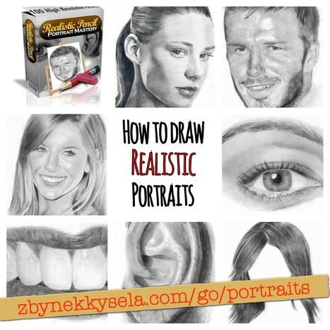 How To Draw Realistic Pencil Portraits #TIP ! - Zbynek Kysela | Instagram Tips and Tricks | Scoop.it