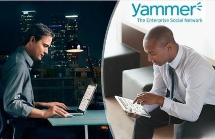 Microsoft s'offre le réseau social Yammer pour 1,2 milliard de dollars ... | Médias sociaux & web marketing | Scoop.it